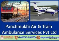 Panchmukhi ICU Air Ambulance Service in Ranchi for Emergency Patient Transfer