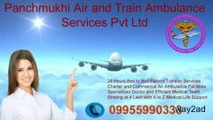 Get an Appropriate Lowest Fare Air Ambulance from Guwahati to Chennai
