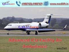 Hire Prominent Air Ambulance Service in Jaipur with ICU Setup