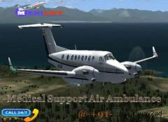 Take Finest and Secure Air Ambulance Service in Indore