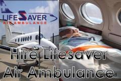 Avail the Ergonomic Air Ambulance in Kolkata Now