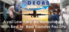Excellent Assistance with Air Ambulance in Kolkata Giving Bed-to-Bed Provision