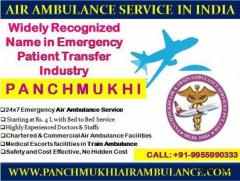 Get Basic and Advanced Life Support System with Panchmukhi Air Ambulance in Delhi