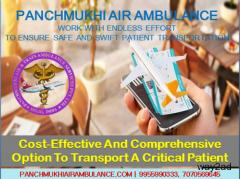 Get an Advanced Medical Team with Panchmukhi Air Ambulance in Patna – Patient Transfer Services