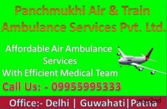 24 Hours ICU Patient Transfer with Panchmukhi Air Ambulance in Kolkata