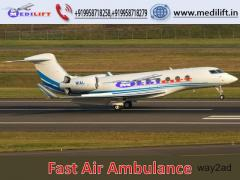 Hire Prominent Air Ambulance Service in Kolkata with ICU