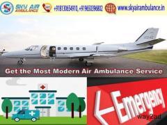 Select ICU Configured Emergency Air Ambulance Service in Varanasi