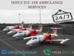 Pick Low-Budget Air Ambulance in Guwahati by Hifly ICU