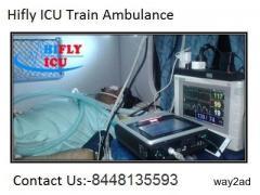 Low Budget ICU Train Ambulance in Delhi By hifly ICU