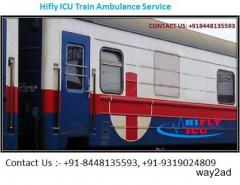 Book Low Price ICU Train Ambulance in Bangalore By  Hilfy ICU