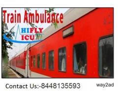 Get-Superior-Shifting- ICU Train Ambulance in Mumbai By Hifly ICU