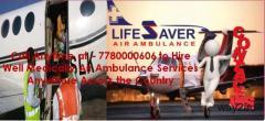 Pick Dynamic Air Ambulance in Patna by Lifesaver Air Ambulance