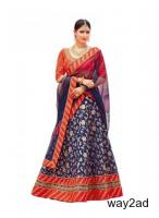 Amazing Blue Lehenga Designs At Mirraw In Affordable Prices