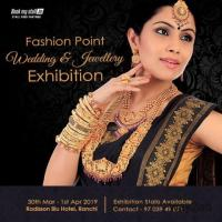 Fashion Point Wedding & Jewellery Exhibition at Ranchi - BookMyStall