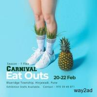 Carnival Eat Outs Season - 1 flea at Pune - BookMyStall