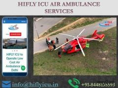 Get 24*7 Hours Rescue Air Ambulance in Amritsar by Hifly ICU