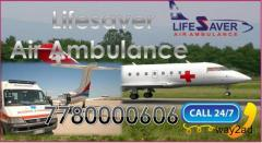 Avail Air Ambulance in Delhi with LTV 1200 Ventilator
