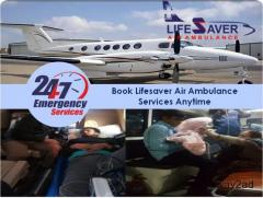 Pick the Air Ambulance in Patna with Best Health Care Specialist