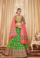Get Green Lehengas From Mirraw In Affordable Prices