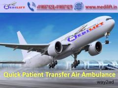 Hire Safe and Quick Air Ambulance Indore to Mumbai