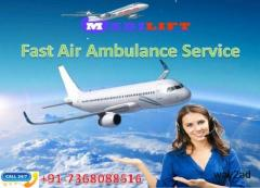 Book Hassle Free Medilift Air Ambulance Service in Bagdogra