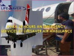 Get the Nimble and Curative Air Ambulance from Guwahati