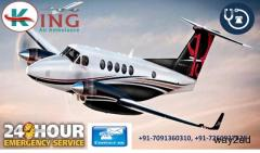 Book best Air ambulance service in Agra by King Air Ambulance