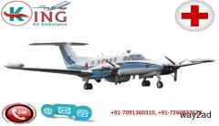 Air Ambulance service in Raipur by King Air Ambulance