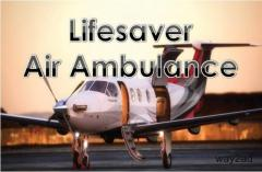 Get Attentive Air Ambulance from Silchar by Lifesaver Air Ambulance