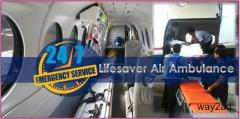 Nimble Air Ambulance from Dibrugarh Available