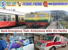 Get Low-Cost Train Ambulance in Mumbai for Best Services