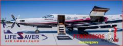 Hire Ultimate Patient Care Air Ambulance from Kolkata