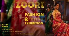 Zoori Fashion & Lifestyle Exhibition at Lucknow - BookMyStall