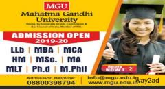 Apply Now For Postgraduate Courses in MGU University