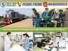 Get Best and Safe Sky Train/Rail Ambulance Service in Allahabad