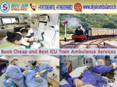 Get Sky Train/Rail Ambulance in Bhopal for Emergency Services