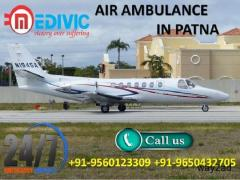 Avail the High Standard Life Support Air Ambulance in Patna by Medivic