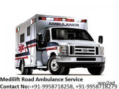 Get Best ICU Ground Ambulance Service in Madhubani By Medilift Ambulance