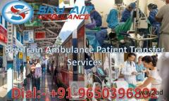 Get Sky Train/Rail Ambulance Service in Jabalpur with Best ICU facilities
