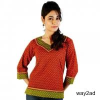 Shop Latest Short Kurti Designs for Women - Free Shipping