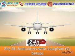 Now Book Trustful and ICU Emergency Air Ambulance Service in Kolkata