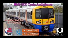 Get Cheapest-Fare Train Ambulance Service in Patna By Hifly ICU
