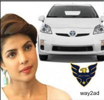 Priya Golani Brand Ambassador of Toyota Prius Hybrid