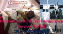 Hi-Tech and Safe Air Ambulance Cost from Dibrugarh to Delhi by Panchmukhi