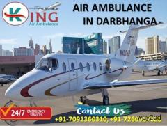 Choose an Epochal and Smart Air Ambulance Services in Darbhanga by King