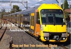 Hifly ICU Train Ambulance Service in Jamshedpur At a low-Cost