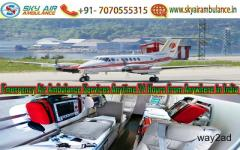 Utilize the Top Level Air Ambulance Service in Delhi by Sky