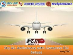 Pick Life-Saving Air Ambulance Service in Ranchi with Doctor