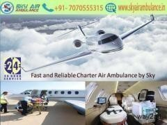 Use Branded ICU Setup Air Ambulance in Dehradun by Sky Air Ambulance