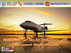 Use Splendid Sky Air Ambulance in Patna and Delhi with Advanced Medical Facility